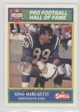 1990 Swell Pro Football Hall of Fame #94 Gino Marchetti Baltimore Colts Card
