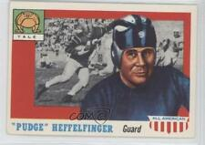 1955 Topps All American #18 Pudge Heffelfinger Yale Bulldogs RC Football Card