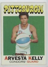 1971 Topps #228 Arvesta Kelly Pittsburgh Condors (ABA) RC Rookie Basketball Card