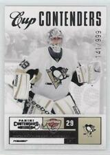 2011-12 Panini Playoff Contenders 126 Marc-Andre Fleury Pittsburgh Penguins Card