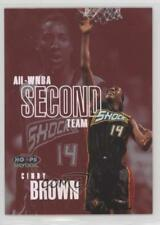 1999 WNBA Hoops Skybox All-WNBA First Team #6AW Cindy Brown Detroit Shock (WNBA)