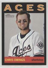 2013 Topps Heritage Minor League Edition Black #209 Chris Owings Reno Aces Card