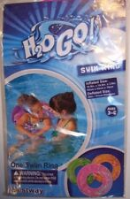 Child's H2O GO! Inflatable Swim Ring - Green, Orange or Pink - For Ages 3-6