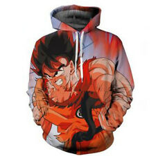 Women Men Adult 3D Print Dragon Ball Z Kaiohken Goku Sweatshirt Pullover Hoodie