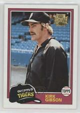 1981 Topps #315 Kirk Gibson Detroit Tigers RC Rookie Baseball Card