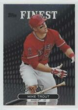 2013 Topps Finest #1 Mike Trout Los Angeles Angels Baseball Card
