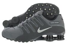 Nike Shox NZ 378341-059 Grey Black Running Training Shoes Medium (D, M) Men