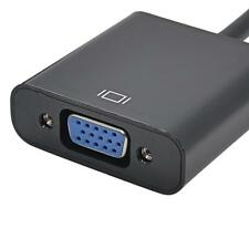 1080P HDMI Male to VGA Female Adapter Video Cord Converter Cable For PC HDTV XG
