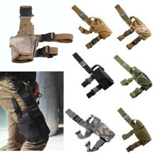 Right Hand Gun Drop Leg Thigh Holster Fit for Military Tactical Airsoft Pistol
