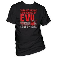 Trapped In Time By Evil Low on Gas Army of Darkness T-Shirt Evil Dead 3 III