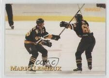 1997 Pinnacle Giant Eagle Mario's Moments #10 Mario Lemieux Pittsburgh Penguins