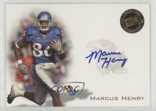 2008 Press Pass Signings Bronze #PPS-MH2 Marcus Henry Kansas Jayhawks Auto Card