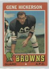 1971 Topps #36 Gene Hickerson Cleveland Browns Football Card
