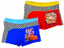 Boys CARS Lightning McQueen 95 Boxer Trunks Swim Shorts 3 to 8 Years
