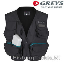 Greys NEW 2018 Fly Fishing Vest Lightweight Angling WaistCoat Extra Storage Vest