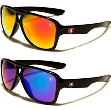 NEW SUNGLASSES BLACK MENS LADIES BOYS SPORTS DESIGNER WRAP MIRRORED AVIATOR BIG