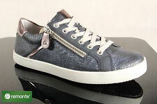 Remonte Lace Up Sneakers Low Shoes D5201 Blue NEW
