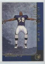 1997 Upper Deck UD3 #21 Peter Boulware Baltimore Ravens Rookie Football Card