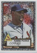 2011 Topps Prizes 1952 Black Diamond Wrapper Redemptions #11 Albert Pujols Card