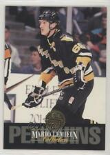 1993-94 Leaf Collection #9 Mario Lemieux Pittsburgh Penguins Hockey Card