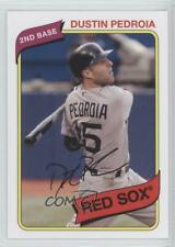 2012 Topps Archives #122 Dustin Pedroia Boston Red Sox Baseball Card