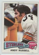 1975 Topps #90 Andy Russell Pittsburgh Steelers Football Card