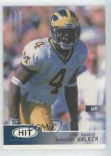 2002 SAGE Hit #4 Marquise Walker Michigan Wolverines Rookie Football Card