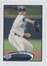 2012 Topps Pro Debut #32 Martin Perez Round Rock Express Rookie Baseball Card