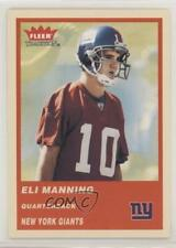 2004 Fleer Tradition #331 Eli Manning New York Giants RC Rookie Football Card