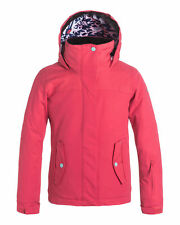 NEW ROXY™  Girls 8-14 Jetty Girl Solid 10K Snow Jacket Teens Ski