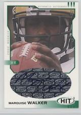2002 SAGE Hit Autographs Emerald #H4 Marquise Walker Michigan Wolverines Auto