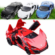 Lykan Hypersport 1:32 Alloy Diecast Model Car Toy & Collection Sound&Light