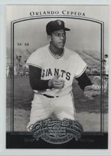 2005 Upper Deck Past Time Pennants #60 Orlando Cepeda San Francisco Giants Card
