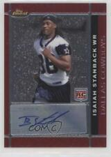 2007 Topps Finest Rookie Autographs Autographed #111 Isaiah Stanback Auto Card