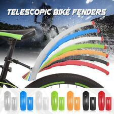 Road Bike Bicycle Cycling Telescopic  Front Mudguard Rear Fenders Mud Guard J4N1
