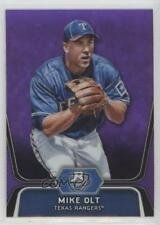 2012 Bowman Platinum Prospects Retail Purple Refractor #BPP30 Mike Olt Card