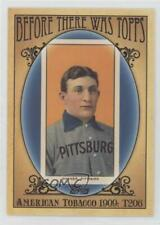 2011 Topps Before There was #BTT1 Honus Wagner Pittsburgh Pirates Baseball Card