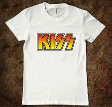 T-shirt baby Kiss T-shirt hard rock for children, baby music rock & roll