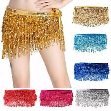 Bohemian Style Indian Belly Dance Hip Chain Waistband with Sequins Tassel