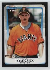 2011 Bowman Draft Picks & Prospects #BDPP24 Kyle Crick San Francisco Giants Card