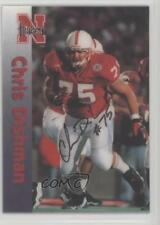 1996 Summit Nebraska Cornhuskers #75 Chris Dishman Rookie Football Card