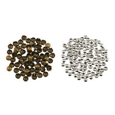 100Pcs Dome Stud Rivet Nailhead Spike Spot Round Leather Craft DIY Rock Punk
