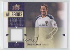 2011 Upper Deck World of Sports All-Sport Apparel #AS-DB David Beckham LA Galaxy