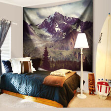 Alaska Mountain Tapestry Wall Hanging Wild & Free Trees Nature Dorm Wall Decor