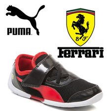 PUMA Future Cat Scuderia Ferrari Kids Trainers Boys Babies Toddlers F1 Shoes