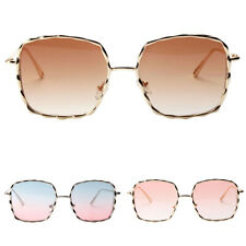 Mens Womens Vintage Square Retro Glasses Designer Eyewear Fashion Sunglasses