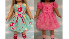 """Dress handmade to fit 18"""" American Girl Doll 18 inch Doll Clothes 21ab"""