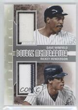 2012 Sportkings Series E #DM-02 Dave Winfield Rickey Henderson New York Yankees