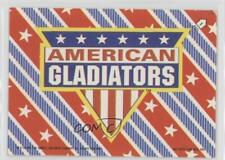 1991 Topps Stickers #1 American Gladiators Logo MiscSports Card