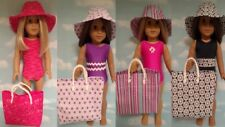 """Swimsuit handmade to fit 18"""" American Girl Doll 18 inch Doll Clothes 751-52ab"""